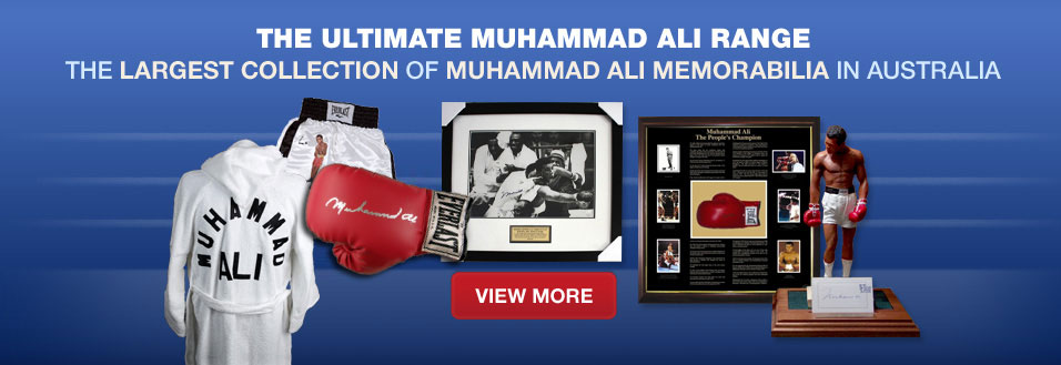 Ultimate Muhammad Ali memorabilia collection