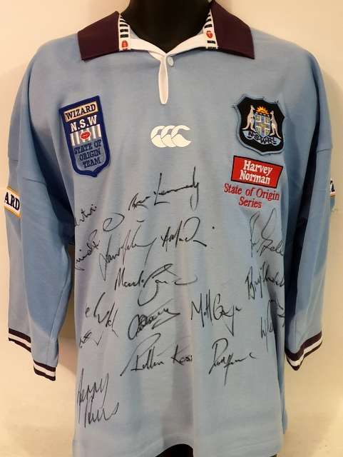 NSW State of Origin 1999 Team Signed Jersey