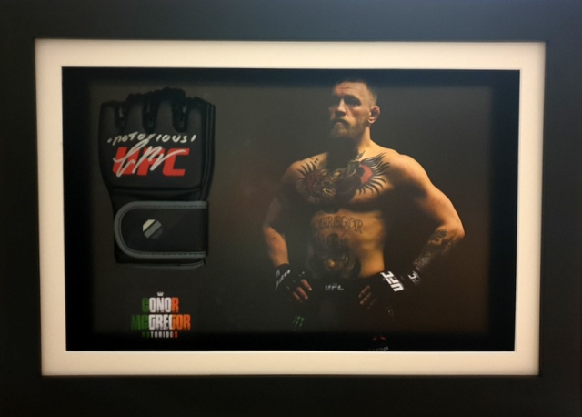 Conor McGregor Personally Signed UFC Glove