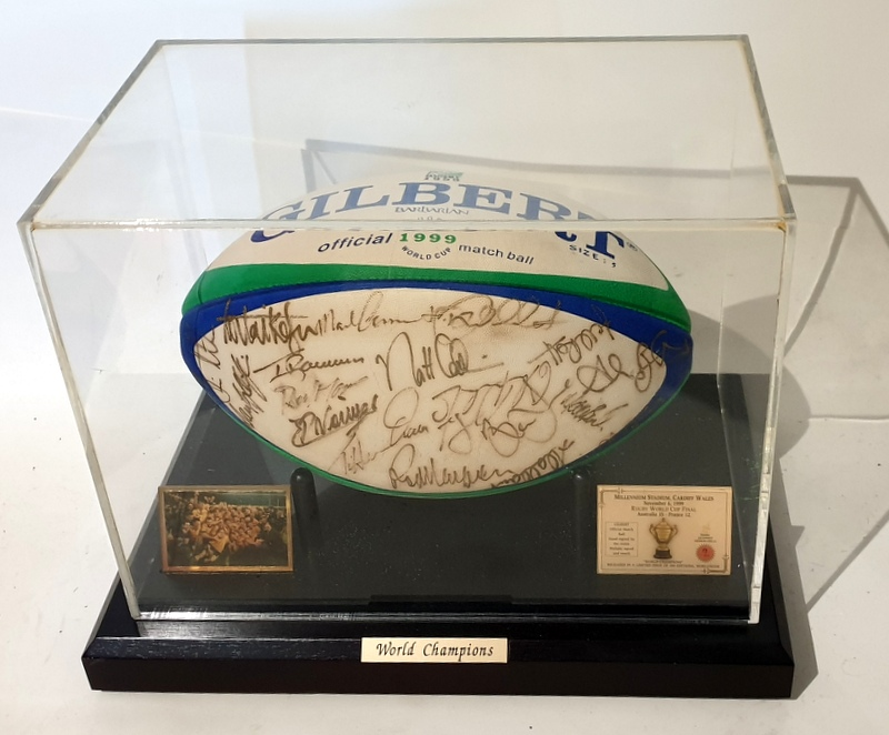 Australian Wallabies 1999 RWC Champions Team Signed Ball - ARU Licensed Product