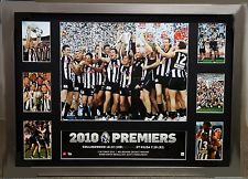 Collingwood 2010 Premiership Glory Tribute – Framed