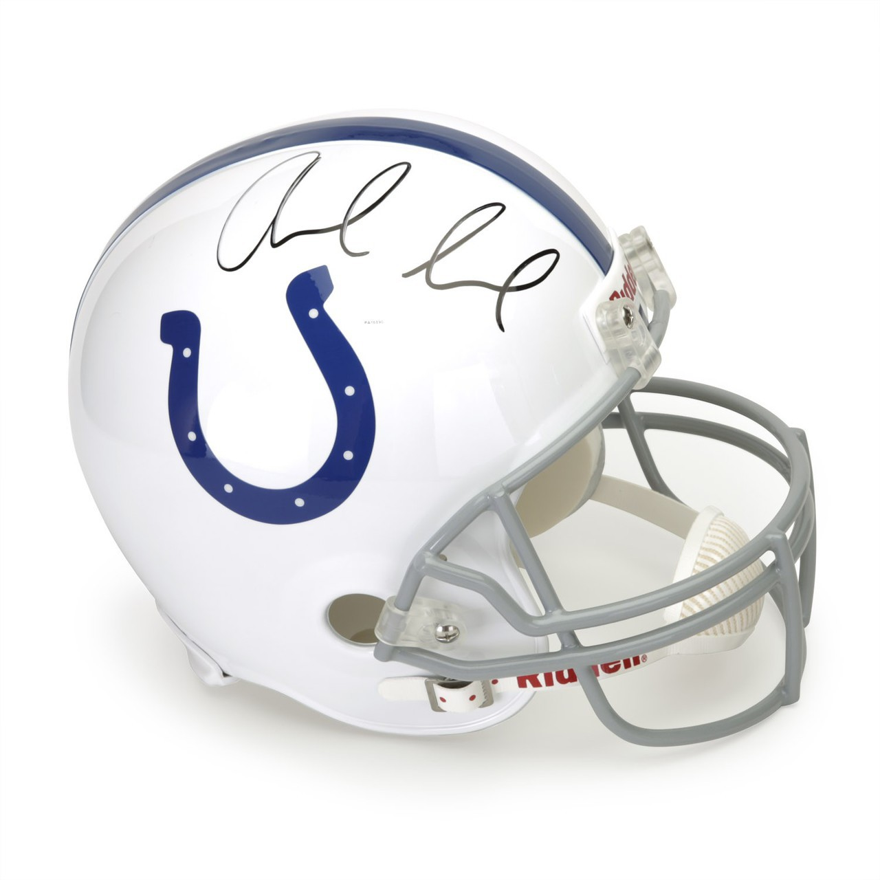 Andrew Luck Hand Signed Indianapolis Colts Helmet, Panini Authenticated