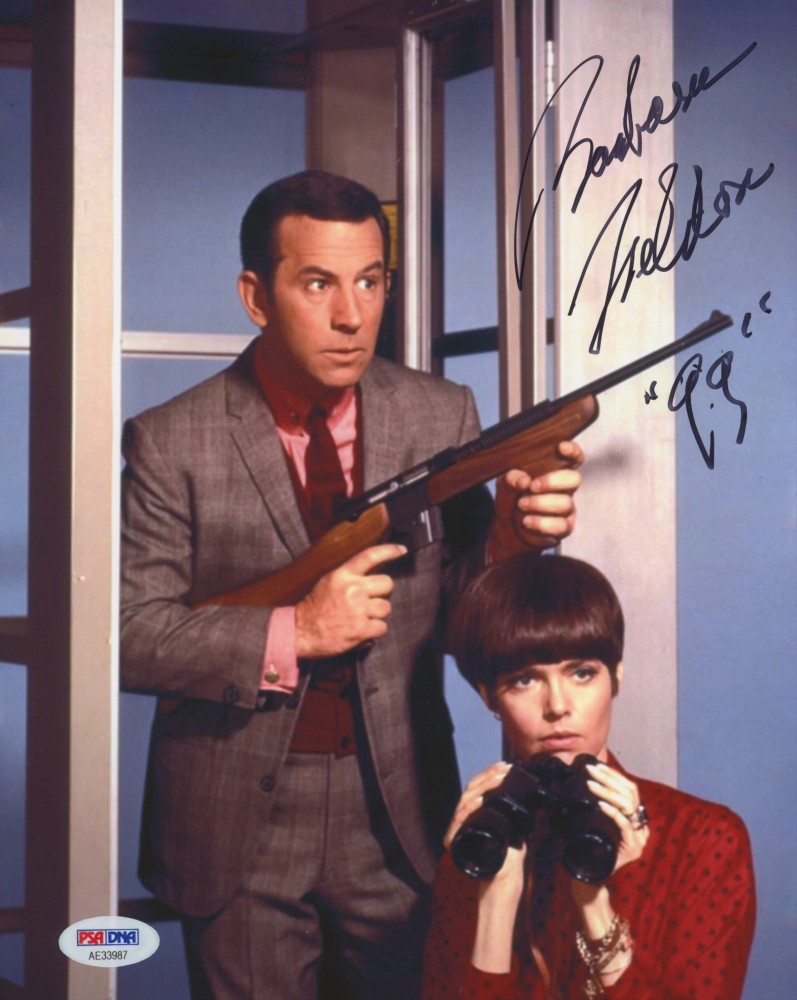 "Barbara Feldon Personally Signed ""Get Smart"" Photo Inscribed ""99"""