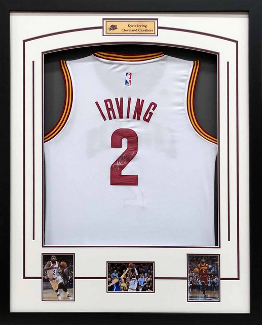 Kyrie Irving Signed Cleveland Cavaliers White Jersey