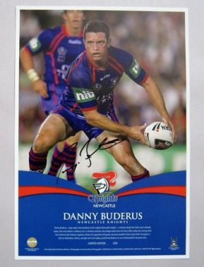 Danny Buderus Signed Player Photo
