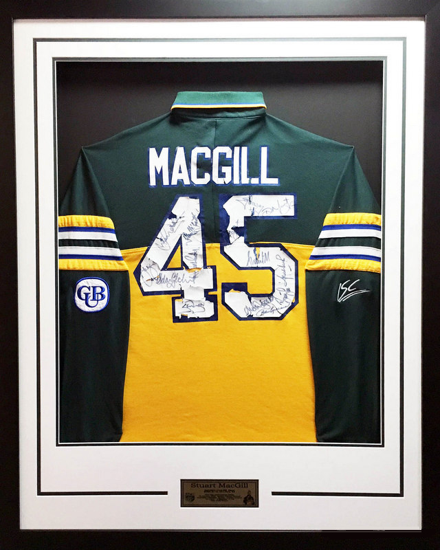 Stuart MacGill's Inaugural ODI Australian Team Shirt, Match Worn and Team Signed