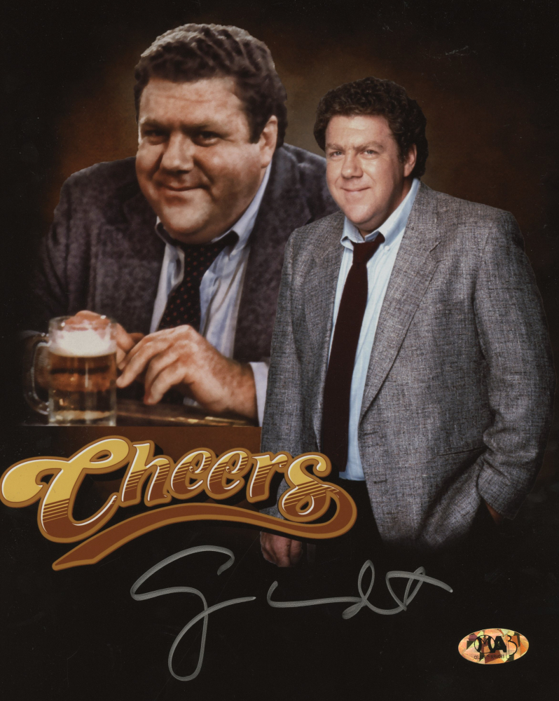 "George Wendt from ""Cheers"" Personally Signed Photo"