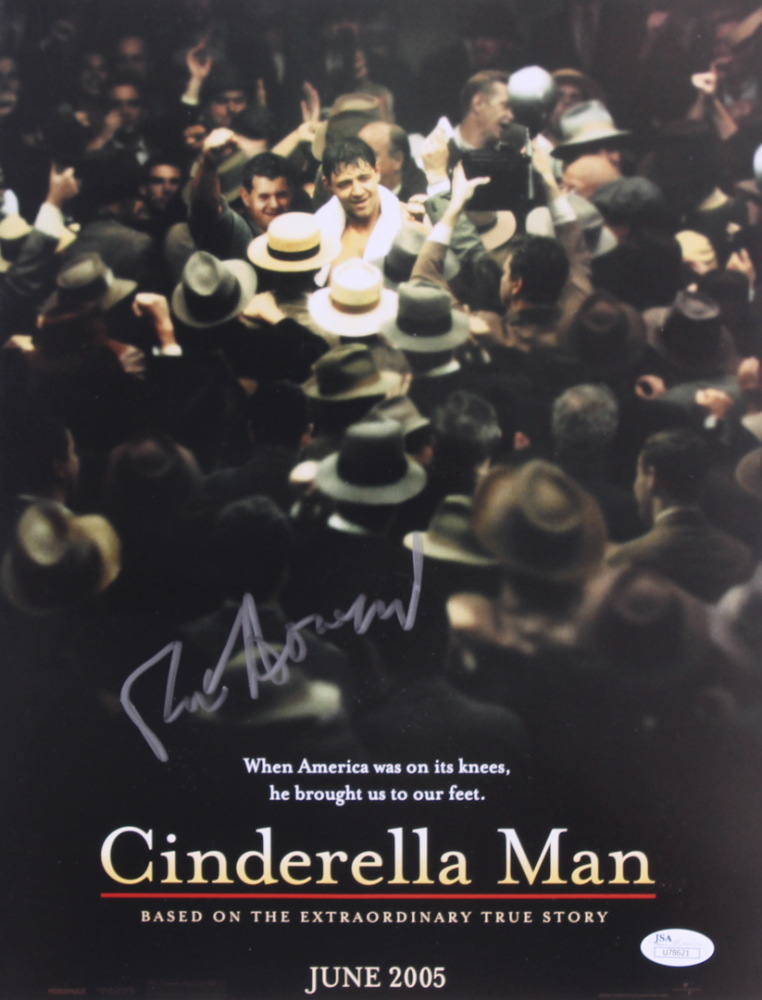 "Ron Howard Personally Signed ""Cinderella Man"" Photo (JSA COA)"