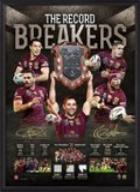 Queensland State of Origin 2015 - Framed Success Litho Personally signed by Greg Inglis and Johnathan Thurston