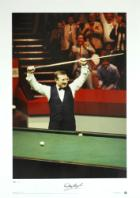World Snooker Champion 1985 signed by Dennis Taylor