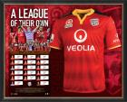 Adelaide United 2016 A League Champions Team-Signed Jersey, Framed