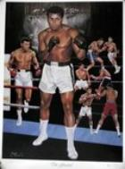Muhammad Ali Personally Signed 'The Greatest' Lithograph