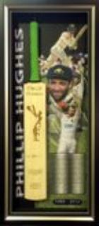 Phil Hughes Personally Signed Bat, Framed - Only one available.