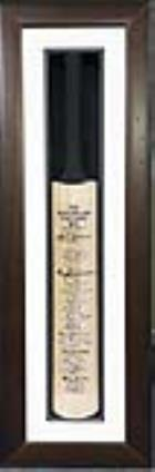 The Australian Test Captains Bat - Hand Signed by Every Captain from Bradman to Taylor - SPECIAL PRICE PLUS BONUS!