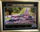 The Greatest Bathurst Never Driven, Personally Signed by Peter Brock, Framed - Brock Sig Version 2