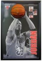 "Michael Jordan ""The Shot"" With Personally Signed Ball and Upper Deck Authenticity"