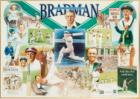 "Sir Donald Bradman Personally Signed ""First, Last and Always"", Career Tribute, Bradman Museum Licensed, Framed"