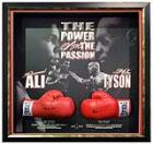 'The Power and The Passion' Signed by Muhammad Ali and Mike Tyson, Framed