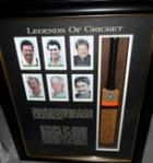 Legends of Cricket - The Caller's XI Signed by 12 Greats - Superb! Framed.