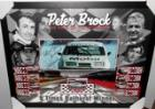"Peter Brock Personally Signed and Inscribed ""Legend"", Framed - A Bathurst 2015 New Release!"