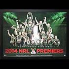 South Sydney Rabbitohs 2014 Premiers Celebration Lithograph, Framed - SPECIAL!