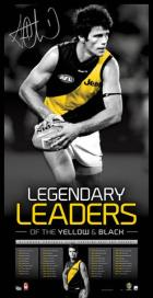 Trent Cotchin 'Legendary Leaders of the Yellow and Black' Richmond Tigers Player Vertiramic - FREE SHIPPING
