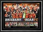 Brisbane Roar FC 2014 A League Champions Sportsprint, Framed - FREE DELIVERY!