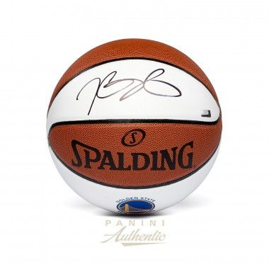 Kevin Durant Personally Signed Golden State Warriors White Panel Basketball, Panini