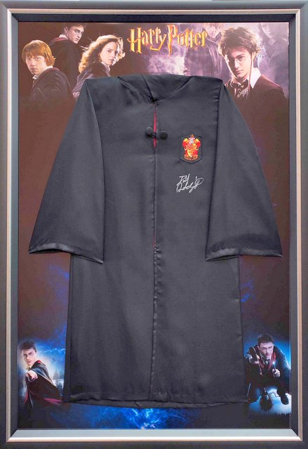 Harry Potter Wizard Robe Personally Signed by Daniel Radcliffe