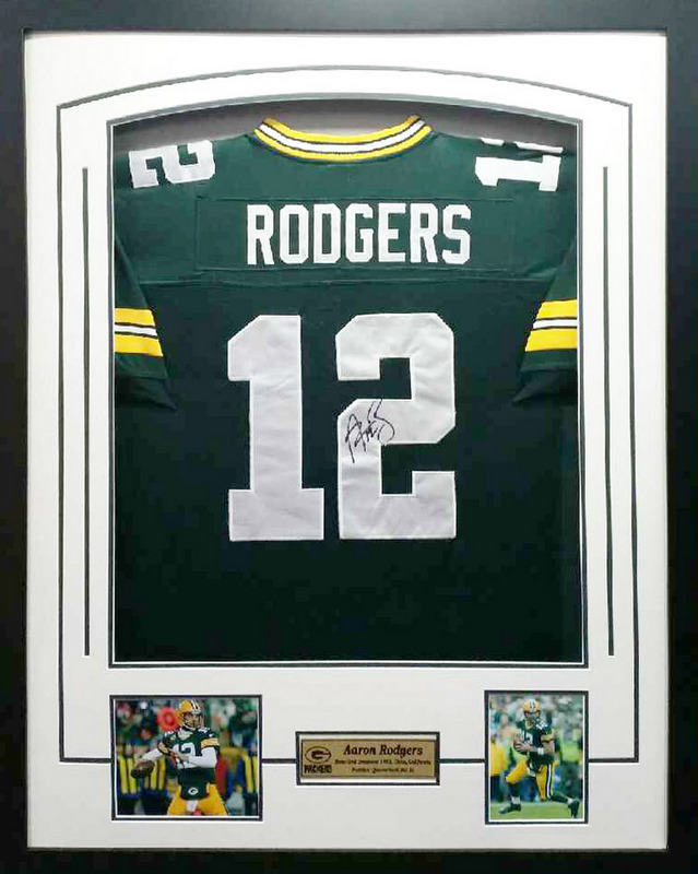 separation shoes 577df c51d0 Aaron Rodgers Personally Signed Green Bay Packers Jersey