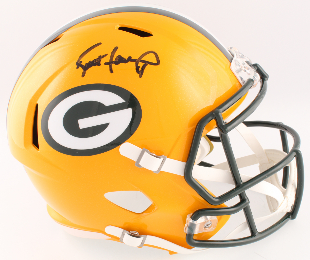 Brett Favre Signed Full Size Speed Helmet