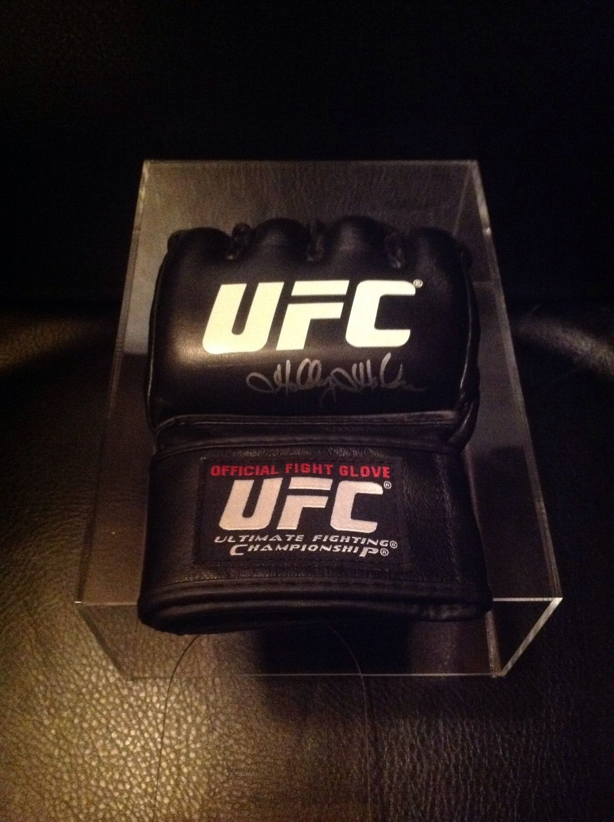 Holly Holm Personally Signed UFC Glove
