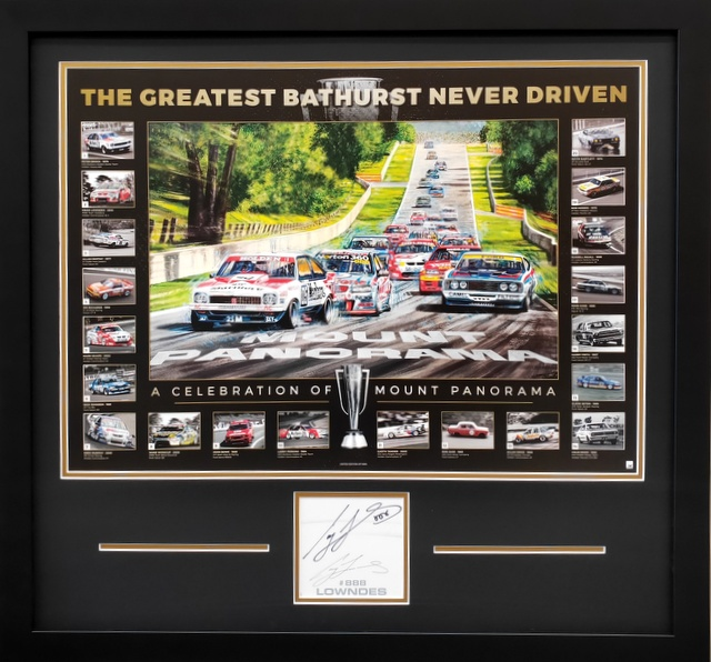 The Greatest Bathurst Never Driven - Personally Signed by Craig Lowndes