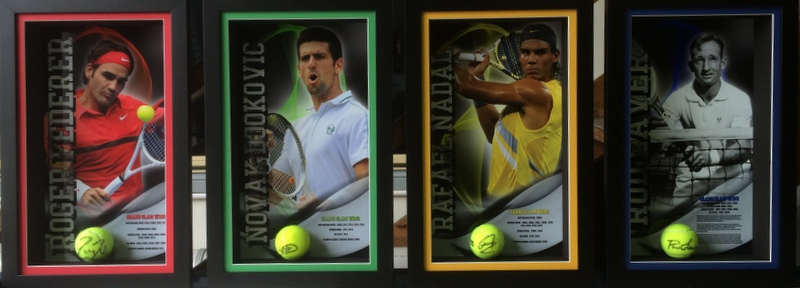 Legends Series - Laver, Federer, Nadal, Djokovic - Great Deal on Acquiring the Set