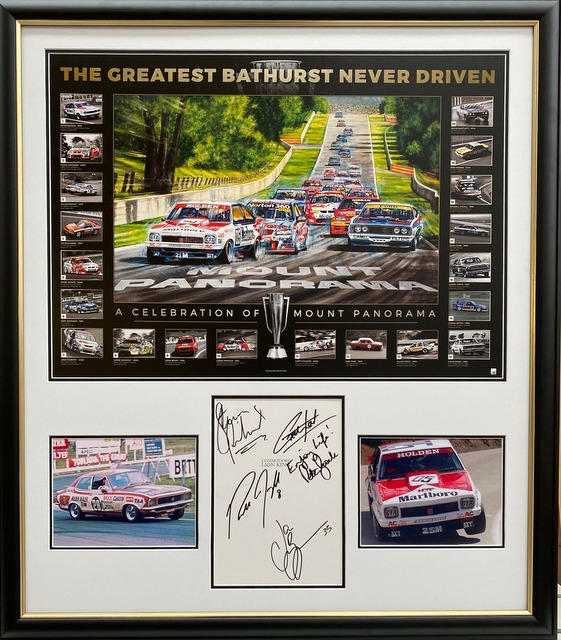 The Greatest Bathurst Never Driven - Personally Signed by Peter Brock