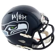 Marshawn Lynch Signed Seattle Seahawks Mini Helmet