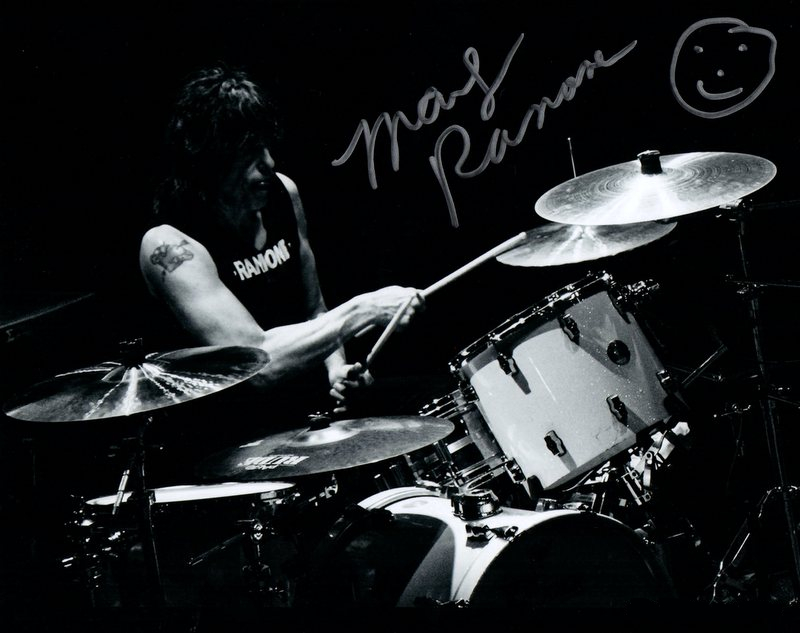 "Marky Ramone of ""The Ramones"" Personally Signed Photo"