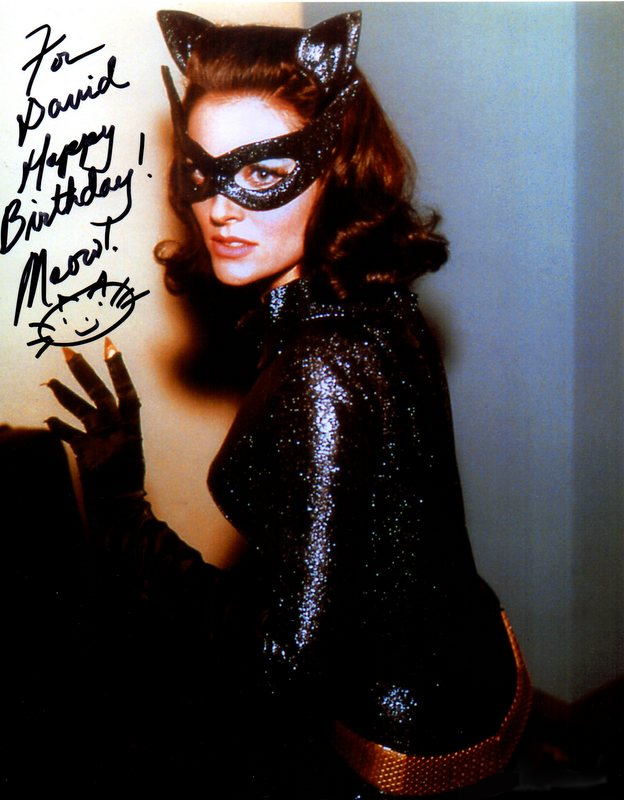 Catwoman Lee Meriwether Personally Signed Photo, Batman (1966)