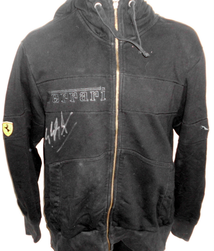 Michael Schumacher Hand-Signed Ferrari Puma Jacket, Mint Condition