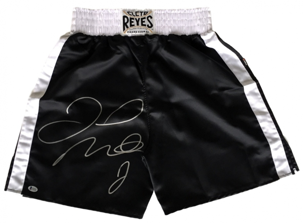Floyd Mayweather Jr Personally Signed Trunks v1