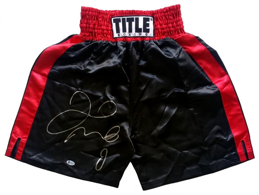 Floyd Mayweather Jr Personally Signed Trunks v2