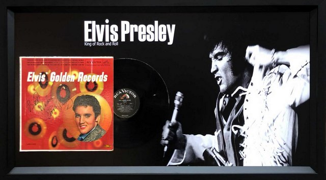 "Elvis Presley Personally Signed ""Golden Records"" Album"