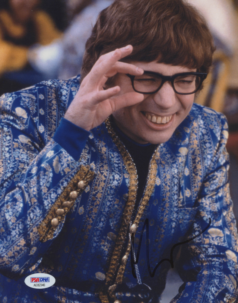 "Mike Myers Personally Signed ""Austin Powers: International Man of Mystery"" Photo (PSA COA)"