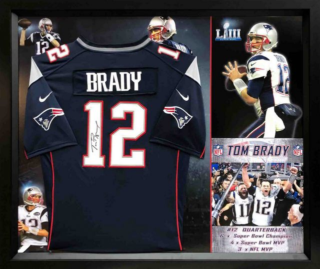 Tom Brady Personally Signed New England Patriots jersey