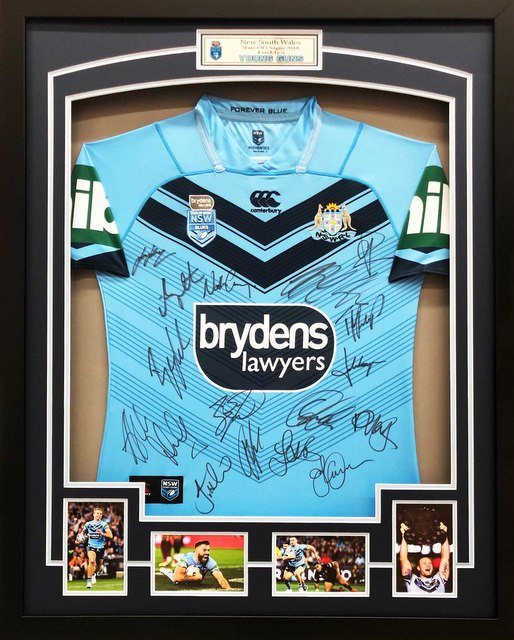 NSW State of Origin 2018 Squad Signed Official Jersey