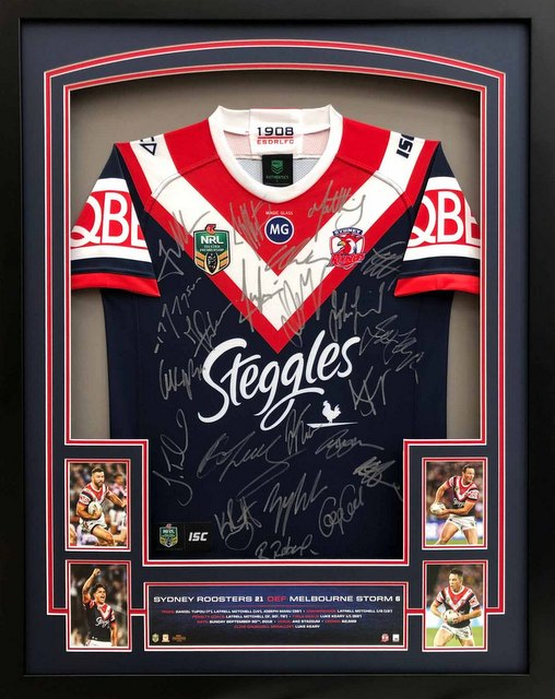 Sydney Roosters 2018 Premiers Team Signed Jersey
