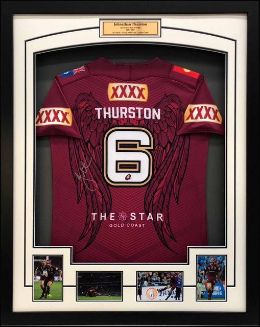 "Johnathan Thurston Queensland State of Origin ""Tribute Jersey"""