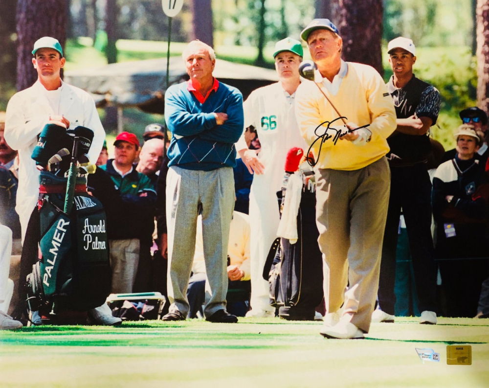 "Jack Nicklaus Personally Signed PGA Photo, ""Driving"""