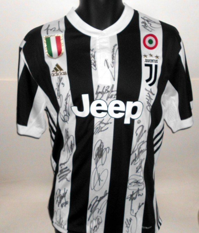 Juventus 2017-2018 Team Signed Jersey