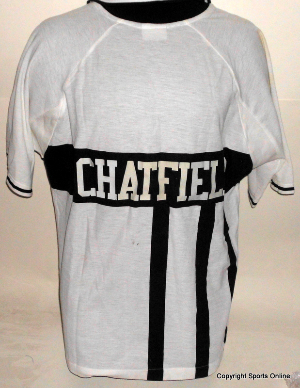 Ewen Chatfield New Zealand ODI Match-Worn Shirt, Signed and Inscribed